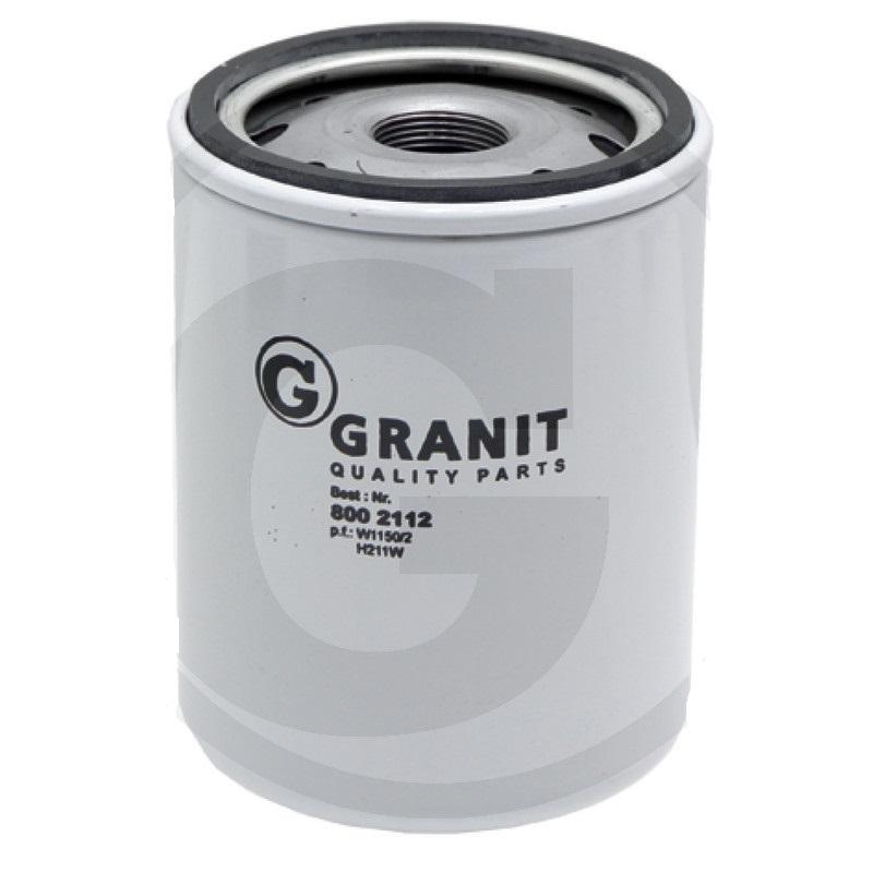 Granit 8002112 filtr hydraulického/převodového oleje vhodný pro Fiat, Ford, New Holland