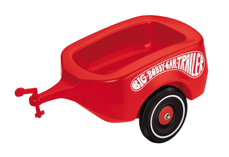 BIG - Bobby Car Trailer - přídavný vozík červený