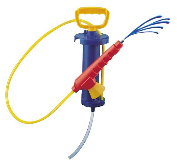 Rolly Toys - Pumpa se stříkačkou k cisternám Rolly Toys