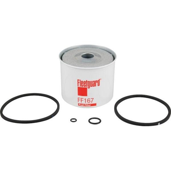FLEETGUARD FF167 palivový filtr vhodný pro Caterpillar, Claas, Fendt, Fiat, Ford, JCB