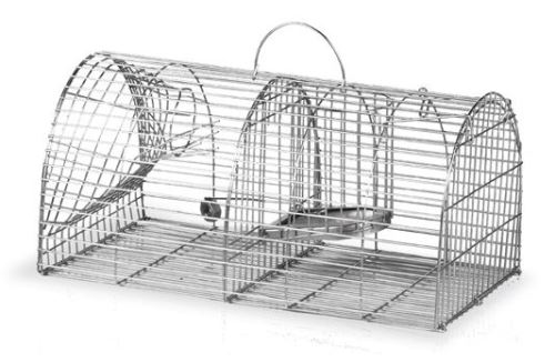 Sklopná past Gaun na krysy a potkany dvoukomorová