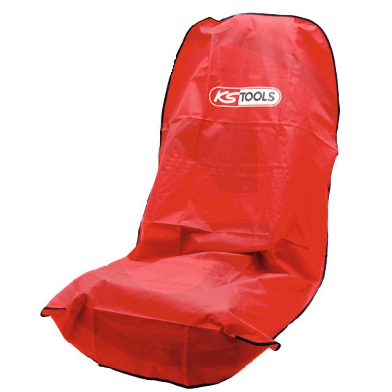 Potah sedačky pro řidiče a spolujezdce KS TOOLS pro opraváře červený
