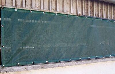 Protiprůvanová síť 1,2 x 50 m rašlový úplet s ocelovými oky 90% stínění
