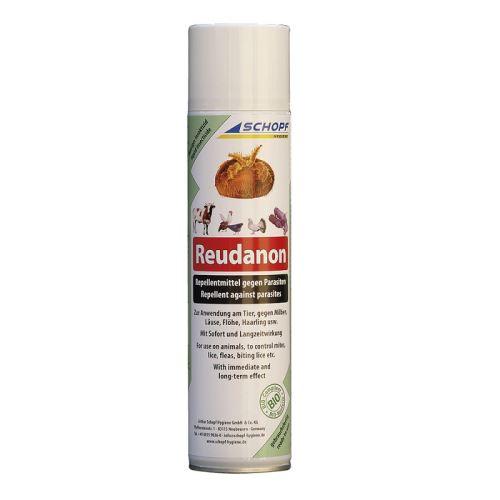 Reudanon BIO repelent proti hmyzu sprej 400 ml na hubení čmelíků, vší, blech, zákožek