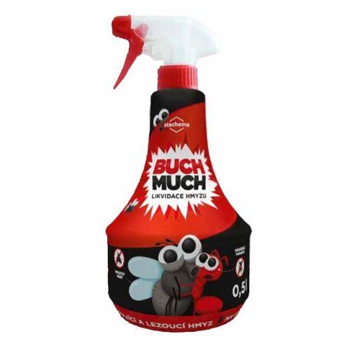 Rebel Buch-Much 500 ml insekticid proti veškerému hmyzu