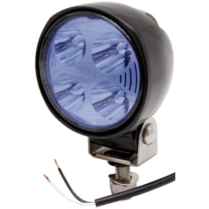 Modrý LED pracovní světlomet 12V a 24V světelný tok 800 lm pro postřikovač