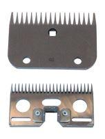 Sada nožů R6 24/18 zubů standard k stříhacímu strojku pro koně a skot Constanta 1 a 2