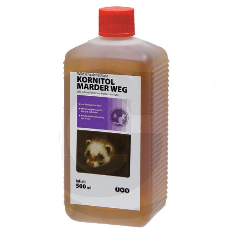 Kornitol Marder Weg 500 ml pachový odpuzovač kun na ochranu gumových dílů a elektrokabelů