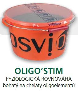 Minerální liz TOPLICK Osvior OLIGO´STIM pro koně a skot 20 kg pro fyziologickou rovnováhu