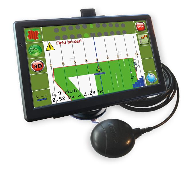 LD-AGRO NAVIGATOR V1 satelitní navigace GPS pro traktory a zemědělské stroje