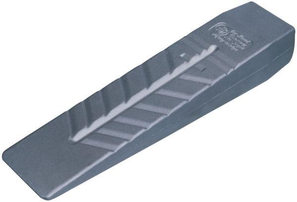 Fotografie Masivní hliníkový štípací klín Ochsenkopf 260 x 60 mm pro tvrdé dřevo velikost III
