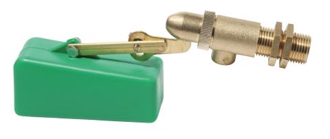 Plovákový ventil k napáječce pro ovce, kozy, prasata, dobytek a koně 2 a 3 l