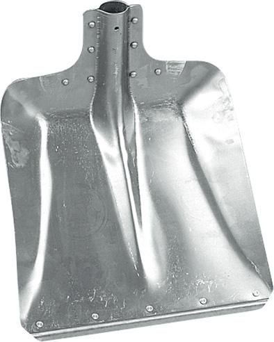 Hliníková lopata velká s ocelovou hranou