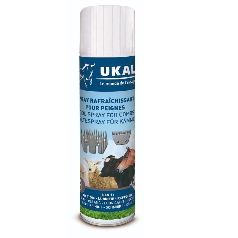 Lubrikační olej – 500 ml, chladící, čistící a dezinfekční sprej pro nože na stříhání