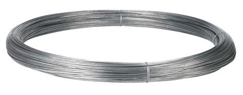 Ohradníkový drát 2,5 mm x 625 m/25 kg ocelový pozinkovaný hladký