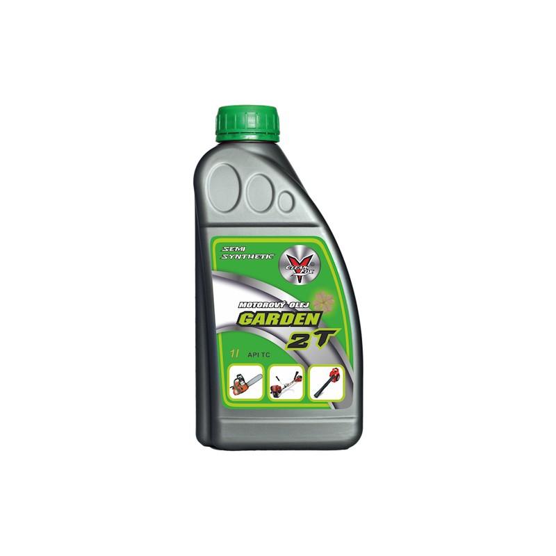 Polosyntetický motorový olej Garden 2T, 1l CleanFox pro motorové pily, křovinořezy