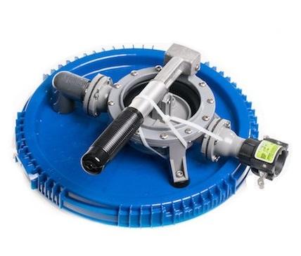Pumpa s víkem pro drenčovací pumpu, sada víko, membránové čerpadlo a sací trubka