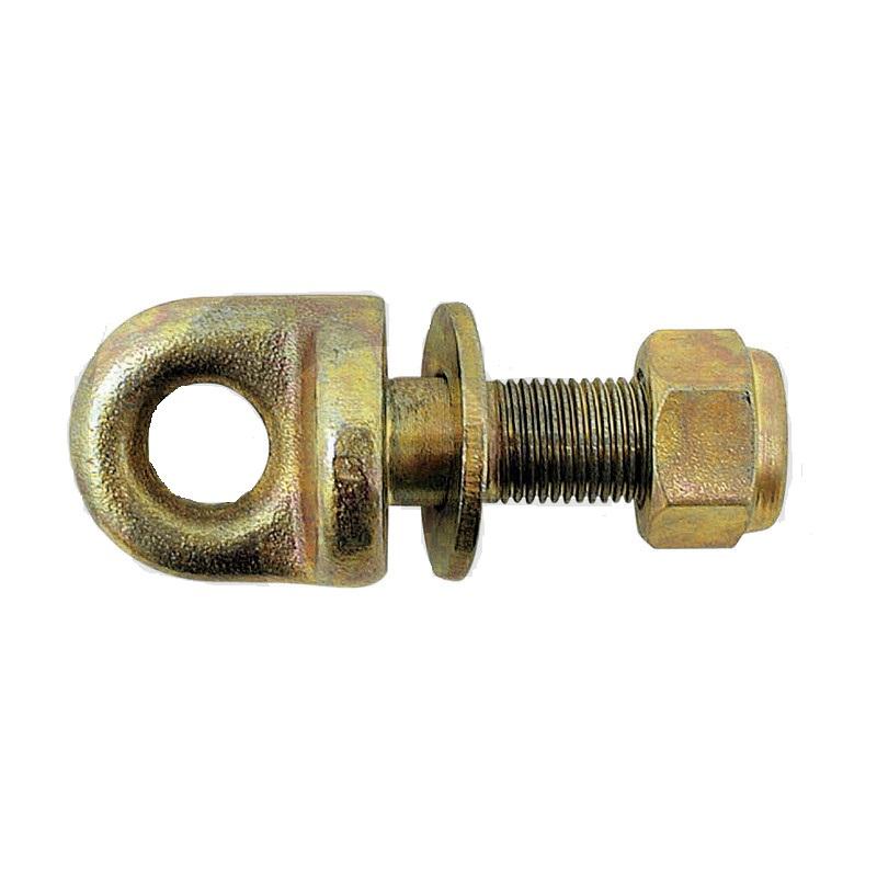 Šroub s okem délka 125 mm závit M24 x 2 pro stabilizátor spodního závěsu třetího bodu