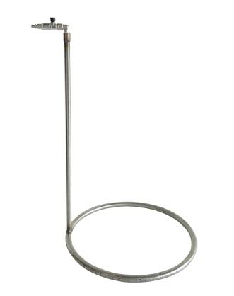 Provzdušňovací kruh nerezový do profi pařícího kotle na drůbež Spiumatrice DITLT 80