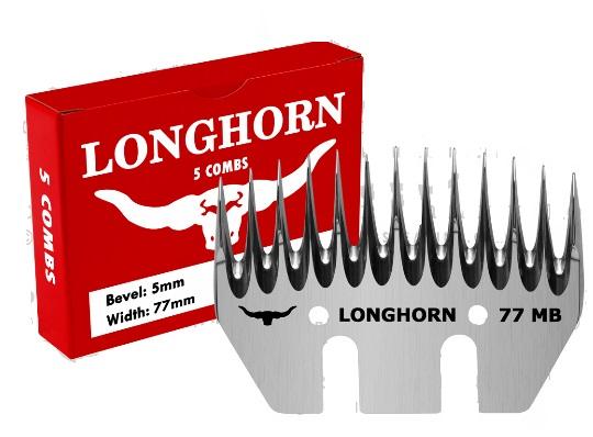 Longhorn Alpaca Standard spodní nůž na stříhání alpak MB 5/77