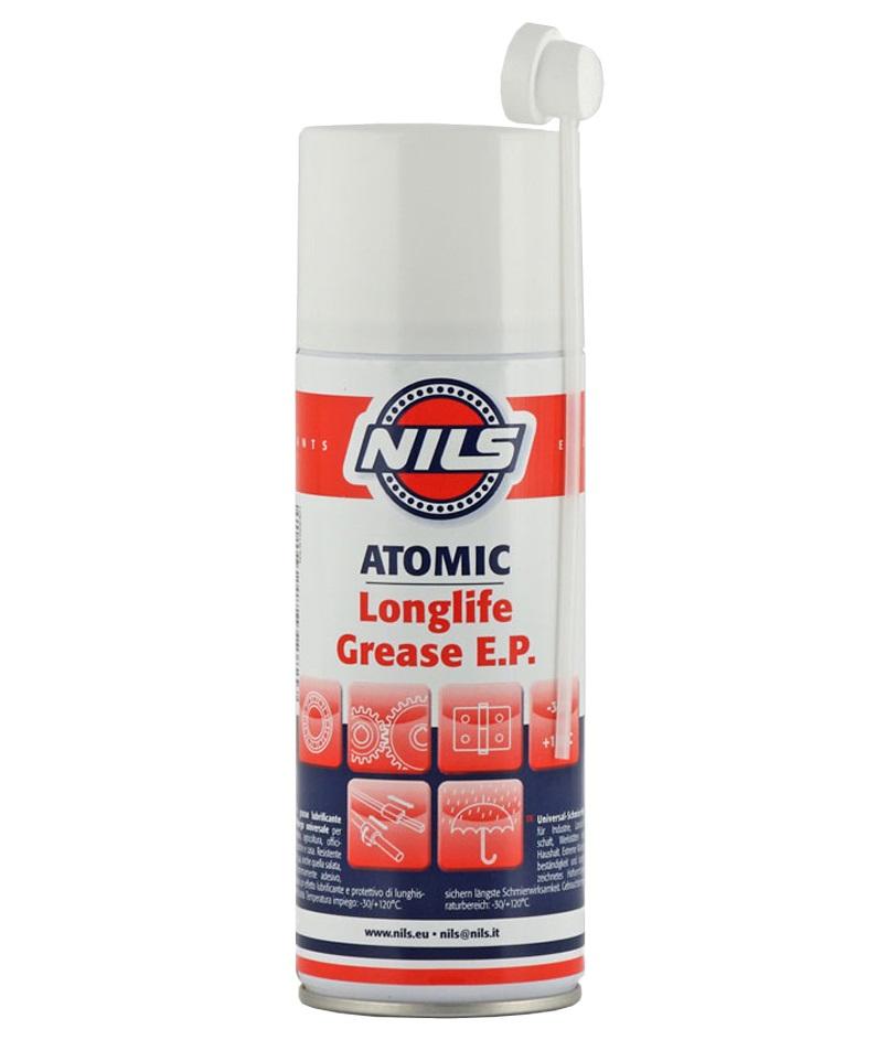 NILS ATOMIC PTFE univerzální mazivo sprej na ložiska 400 ml