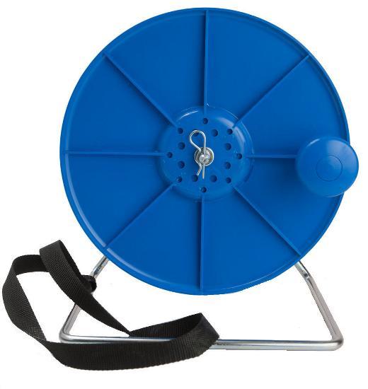 Cívka s držákem pro 1000 m provázku nebo 400 m pásky pro elektrický ohradník