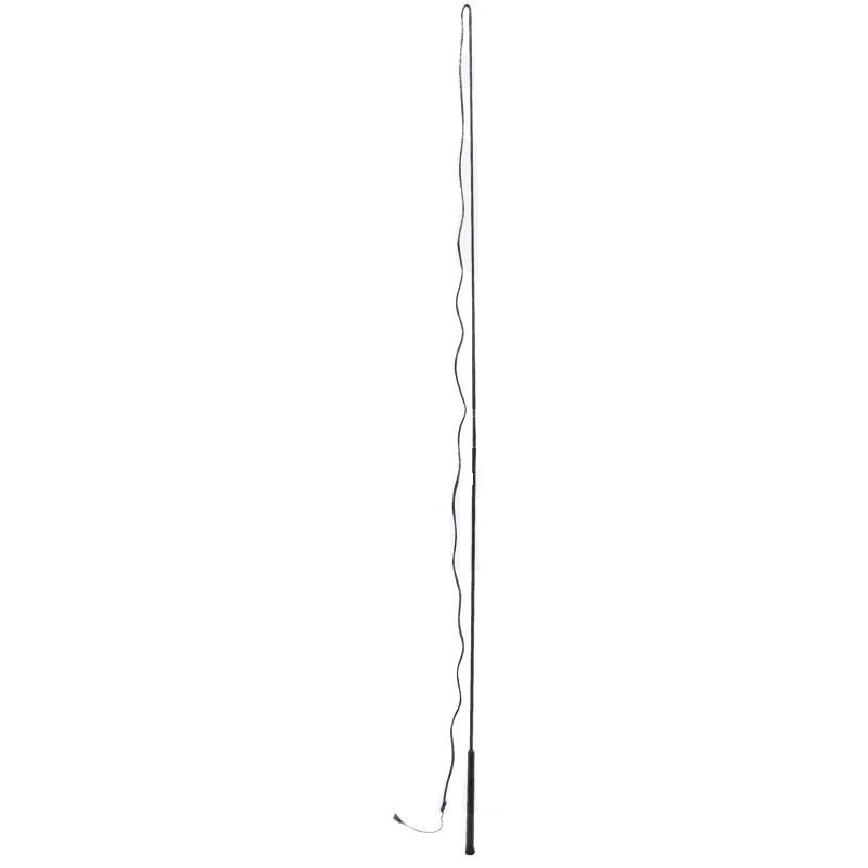Lonžovací bič 180 cm černý
