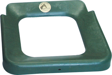 Ochranné víko OK PLAST pro 16 l přímý plastový žlab pro koně