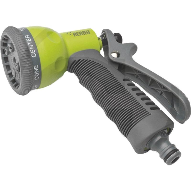 Multifunkční pistole, sprcha na zalévání na zahradní hadici na vodu plastová