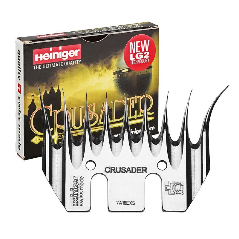 Heiniger CRUSADER 7/945 LG2 spodní nůž na stříhání ovcí na zimní stříž
