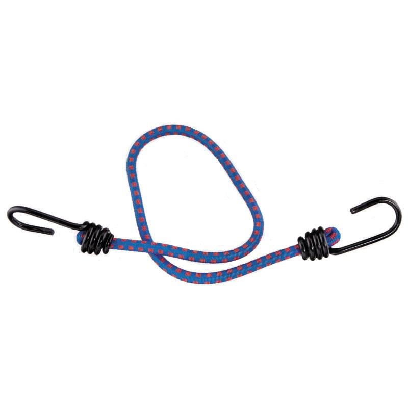 Gumicuk průměr 8 mm délka 60 cm gumové napínací lano s ocelovými háčky