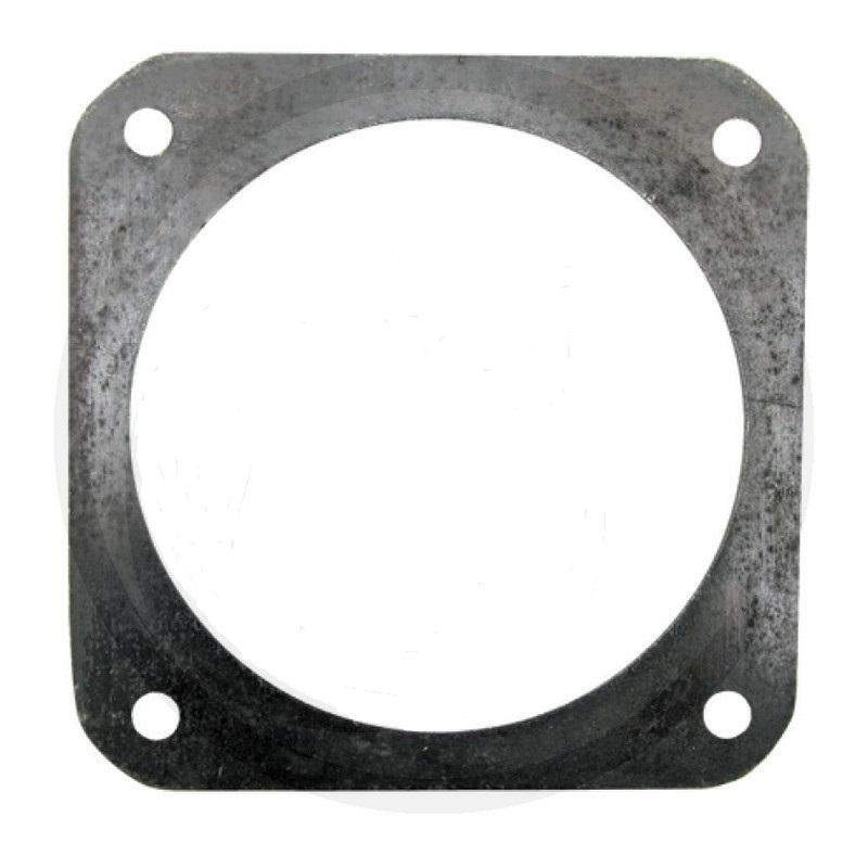 Ocelová příruba 4″ pro šoupě černá rozteč děr 150 x 150 mm