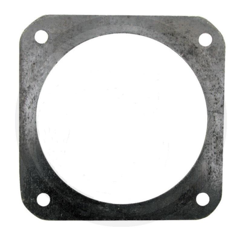 Ocelová příruba 8″ pro šoupě černá rozteč děr 180 x 180 mm
