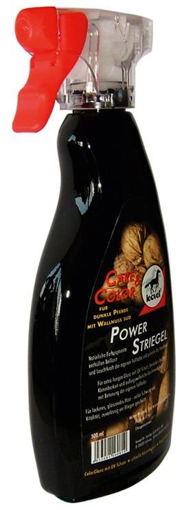 Rozčesávač hřívy LEOVET Power pro tmavé koně 500 ml