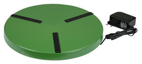 Ohřívací plotýnka pod napáječky pro drůbež průměr 30 cm