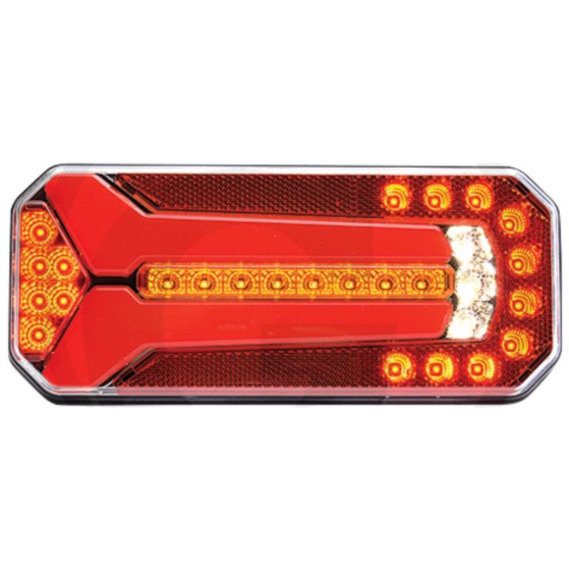 LED světlo levé a pravé koncové, brzdové, směrové, zpátečkové, mlhovka, SPZ, odrazka