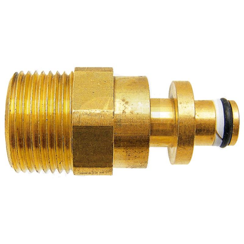 Hadicový adaptér vysokotlakých hadic M22 x 1,5 vnější závit,vsuvka průměr 10 mm