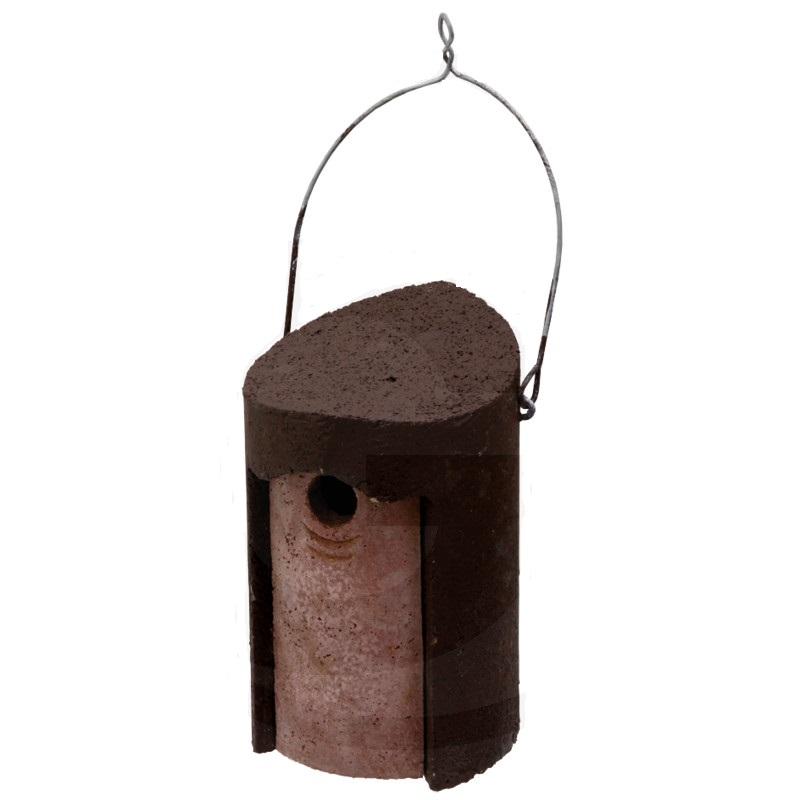 Budka pro sýkorky, brhlíky, vrabce a další ptáky Schwegler dřevobetonová průměr 120 mm
