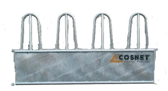 Přídavný rovný panel pro oválný krmelec Cosnet RDC 3 hlavy délka 2,37 m