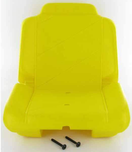 Rolly Toys – traktorová sedačka řepkově žlutá na dětský šlapací traktor