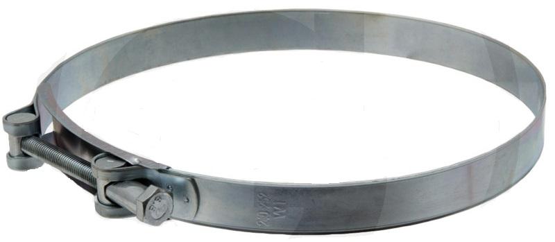 Spona na hadici na fekál pro hadice 100 mm vnitřní průměr rozsah upínání 113-121 mm