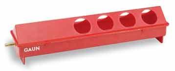 Napájecí korýtko pro slepice, drůbež 50 cm plastové