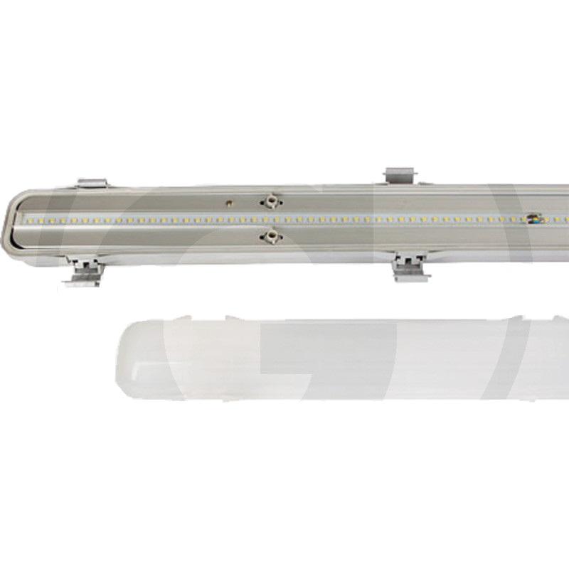 LED svítidlo 2000 Lumen = cca 135W do vlhkého a prašného prostředí haly, stáje, sklady