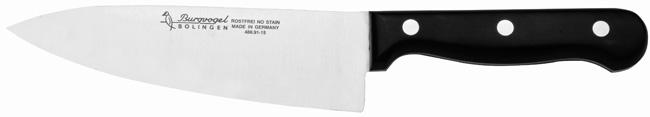 Kuchařský nůž planžetový Burgvogel Solingen 4860.401.15.0 délka ostří 15 cm