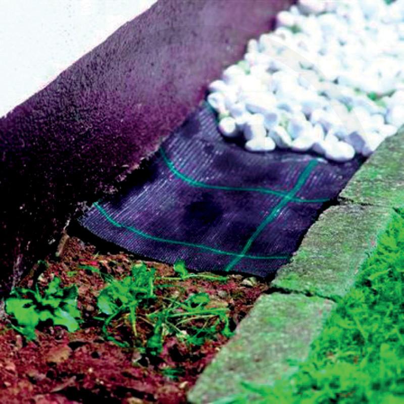 Rohož proti plevelu a trávě 4 x 5 m