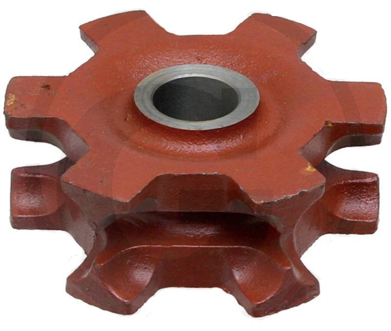Řetězka na rozmetadlo hnoje Strautmann tvar B řetěz 14×50 mm 6 zubů