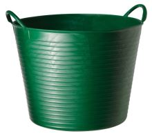 Tubtrug zelené plastové pružné vědro velké 42 l