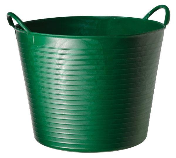 Tubtrug zelené plastové pružné vědro střední 26 l