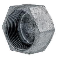 Koncová čepička pro potrubí se závitem