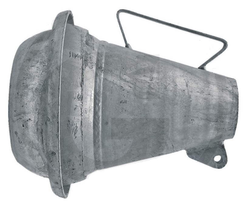 Berselli Ital díl ocelová tryska rozstřikovače kejdy se samcem 4″ pro fekální vozy